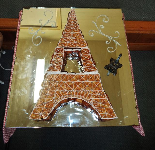 Croquembouche Eiffel Tower