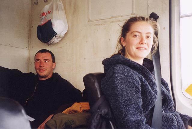 mark & karen in truck