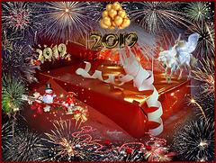 Le bonheur, c'est de parcourir le chemin de la vie du mieux que l'on peut ! Bonne année avec beaucoup de bonheur.