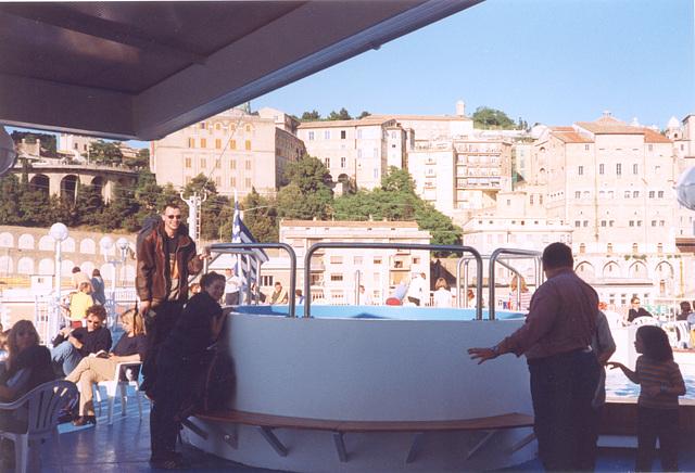 mark & karen on ferry