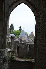 On the Walls of the Castle of Carcassonne