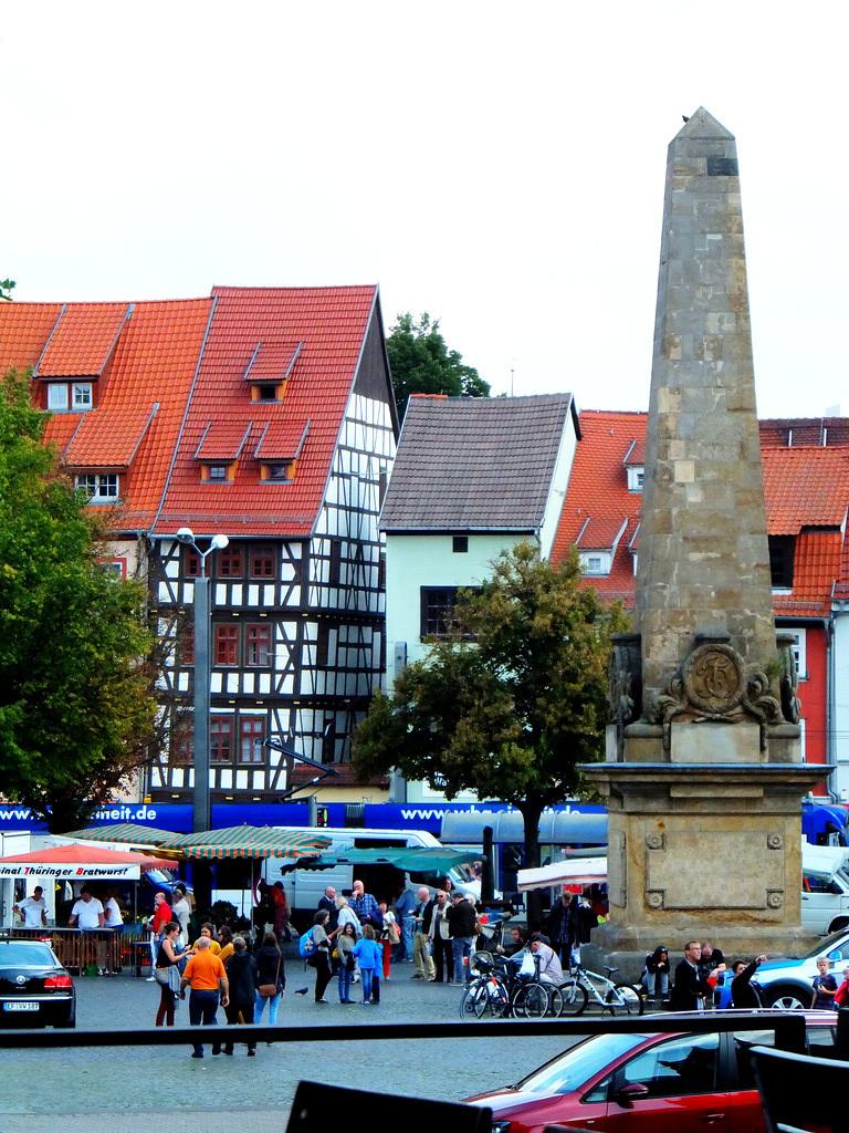 Häuser an der Altstadt. ©UdoSm