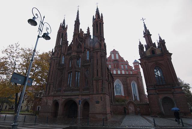 Annenkirche in Vilnius