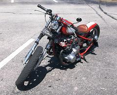 Homemade gem bike / Une perle de moto au style unique