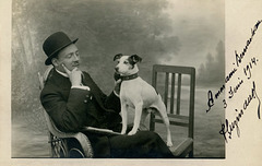 A Man and His Dog, 1914