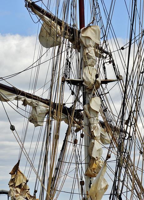 Mast, Rigging and Sails