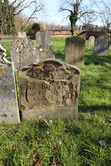 Memorials, Holy Trinity Churchyard, Trinity Street, Bungay, Suffolk