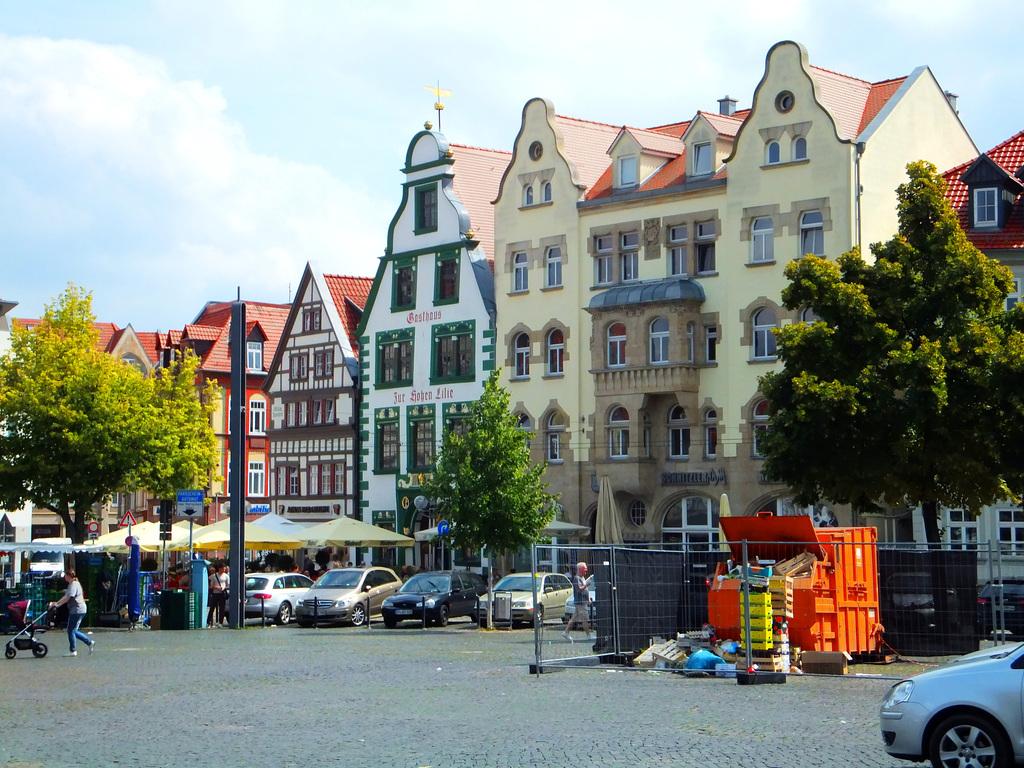 Wunderschöne Häuser am Domplaz. ©UdoSm