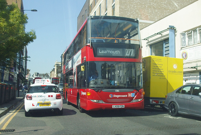 DSCF4834 Stagecoach London LX09 FZN - 24 Aug 2016