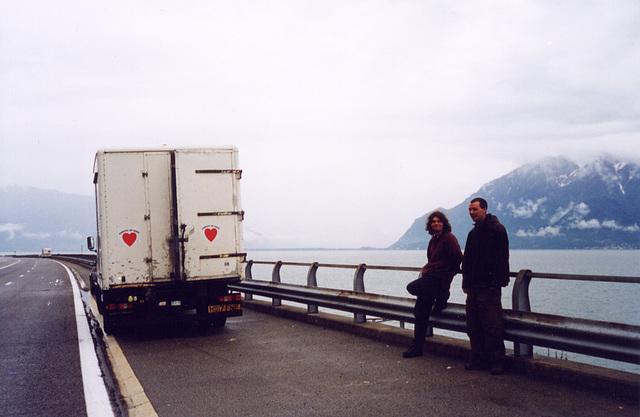 truck at lake geneva 2