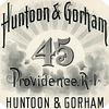 Huntoon and Gorham 45 Label, Providence, Rhode Island