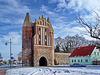 Friedland, Anklamer Tor (Stadtseite)