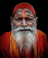 old hindu sadhu