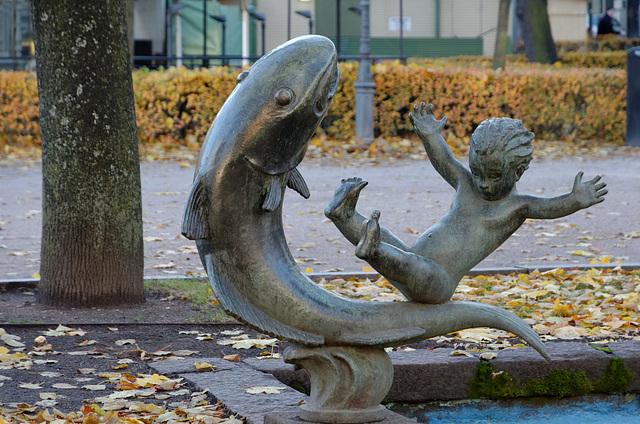 L'enfant et le poisson
