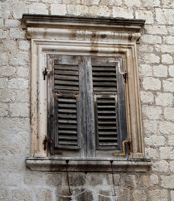 Kotor- Old Shutters #2
