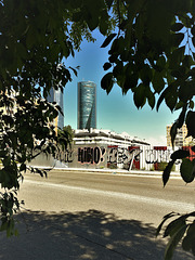 Four Towers, Chamartin and grafitti, and HIBIO! HEY Everone! Y0 tampoco (me neither)!