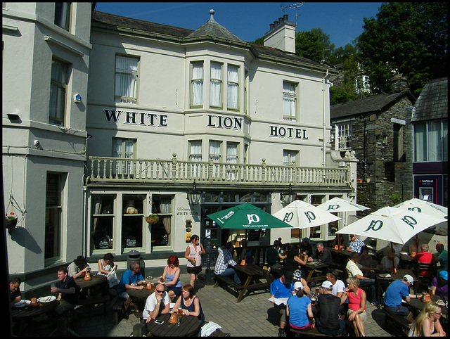 The White Lion at Ambleside