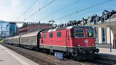 210908 Montreux Re420 essai fret