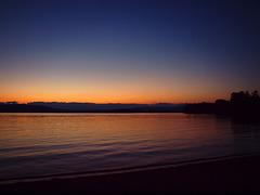 Province Lake at dusk