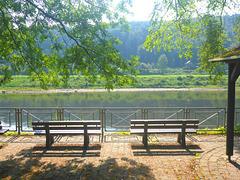 Sommer an der Elbe - somero ĉe la Elbrivero