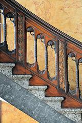 Treppengeländer im Heintzehof