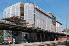 210908 Montreux gare travaux