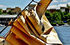 Folded Sail