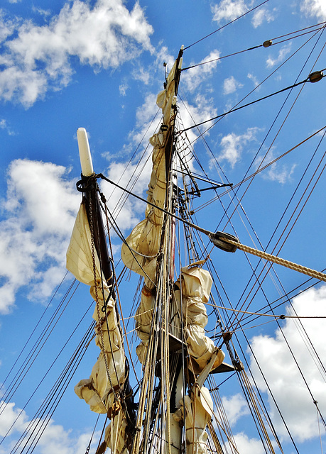 Mast, Rigging and Sails