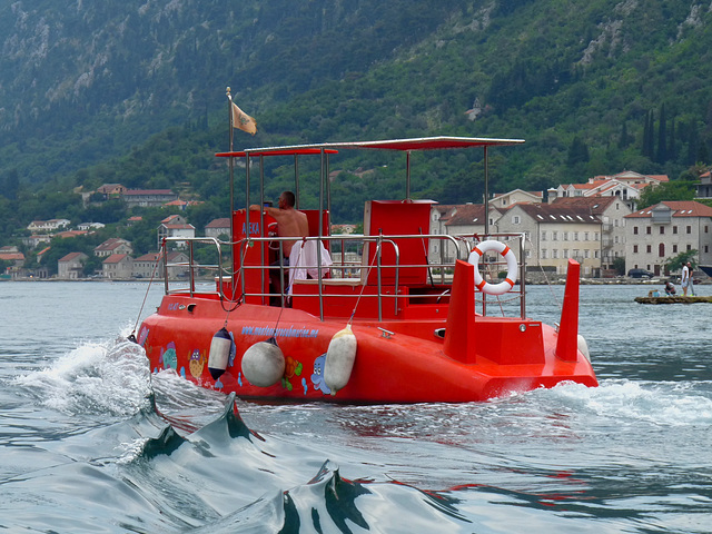 Delfin Semi-submarine