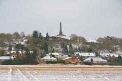Duke of Sutherland memorial over Lilleshall