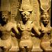 Turin 2017 – Museo Egizio – Ramesses II between the gods Amon and Mut