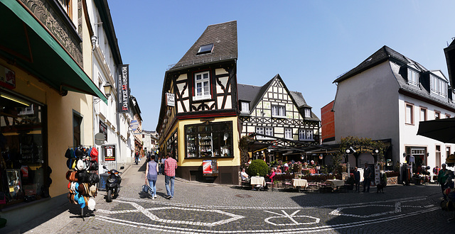 In Rüdesheim