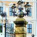 Dresden Detail am Schlosszaun. ©UdoSm
