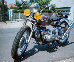 The Yellow-Hella-BMW R51, 1938