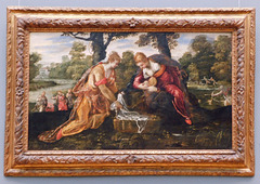 The Finding of Moses by Tintoretto in the Metropolitan Museum of Art, September 2021