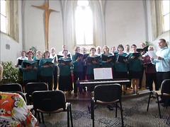 Specimeno el la antaŭkongresa koncerto en Litomyšl (kun himno en Esperanto!)