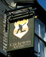 'Cricketers Arms'