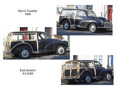 Morris Traveller 1969 East Dulwich 9 6 2006