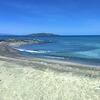 On Chrissi Island.