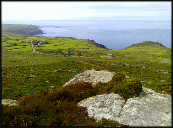 Carn Galva (the seaward view), for Pam.