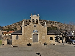 Parish church at Zarzalejo. I just think it's a cute little church!