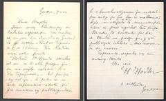 Letero de Hector Hodler al L. L. Zamenhof (1904)