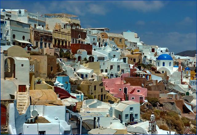 Santorini : I colori di Oia - (958)