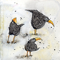 Blob blackbirds