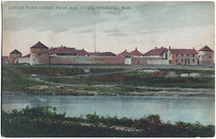 WP2189 WPG - LOWER [UPPER] FORT GARRY FROM RED RIVER