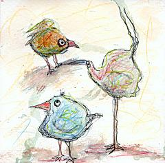 Blob birds