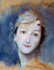 Maurice Quentin de La Tour (1704-1788) Portrait de Marie Fel, épouse de l'artiste, Maurice Quentin de la Tour