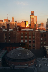 Baltimore Skyline with the Bromo Seltzer Tower, Take 3 – Viewed from the University of Maryland Hospital, Baltimore, Maryland