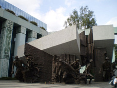 Monument to the 1944 Uprising.