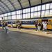 Train arriving in Haarlem